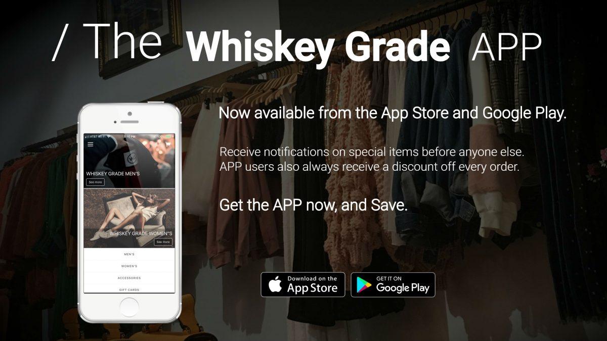 Whiskey Grade Mobile App